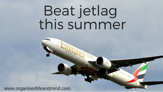 Beat jetlag this summer