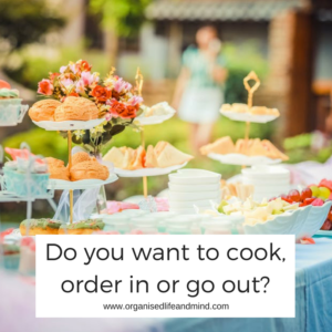 Do you want to cook for a graduation