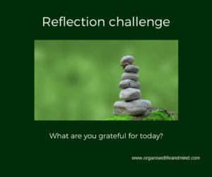 Reflection challenge grateful