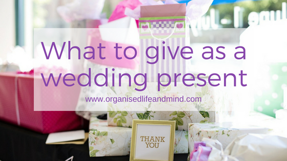 What to give as a wedding present