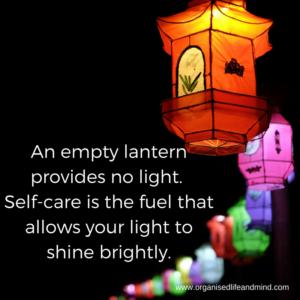 An empty lantern