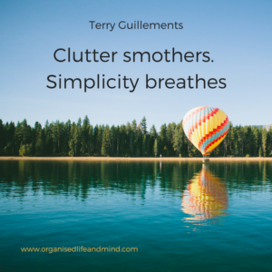 Clutter smothers Saturday quote