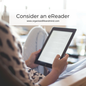 Consider an eReader declutter your books