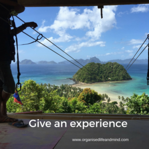 Give an experience August is for celebrations