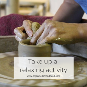 Take up a relaxing activity to a healthier you