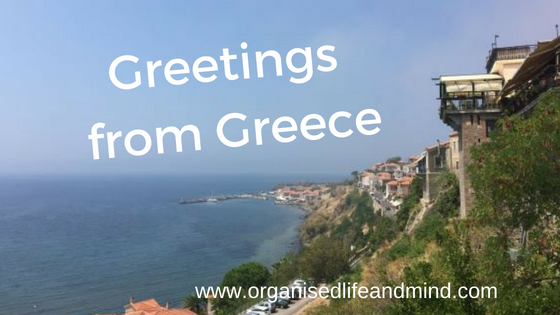 Greetings from Greece holidays