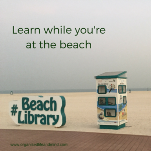 Learn while you're at the beach
