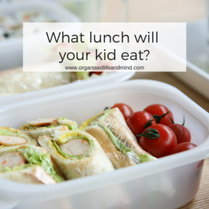 What lunch will your kid eat during the new school year
