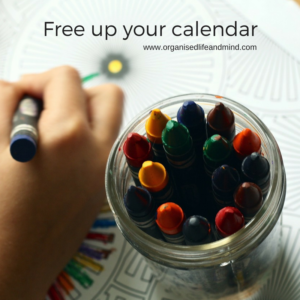 Free up your calendar start the new week