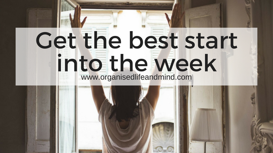 Get the best start into the week