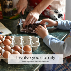 Involve your family start your new week