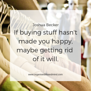 Buying stuff happy Saturday quote