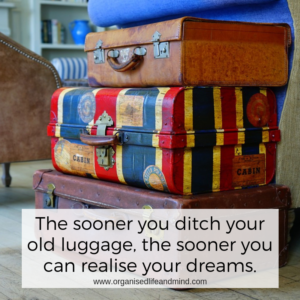 Ditch your old luggage Saturday quote