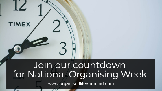 Join our countdown for National Organising Week (NOW)