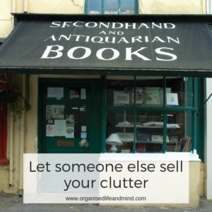Let someone else sell your clutter for money