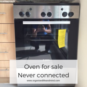 Oven for sale sell your clutter