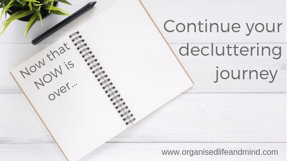 Continue your decluttering journey