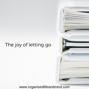 The joy of letting go decluttering journey