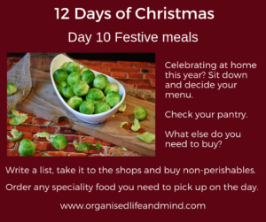12 Days of Christmas Day 10 Festive Meals