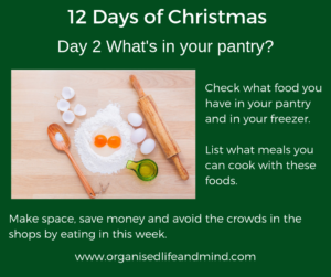 12 Days of Christmas Day 2 Pantry