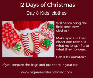 12 Days of Christmas Day 8 Clothes