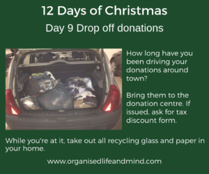 12 Days of Christmas Day 9 Donations