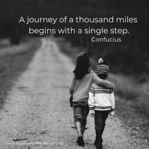 Saturday quote A journey of a thousand miles