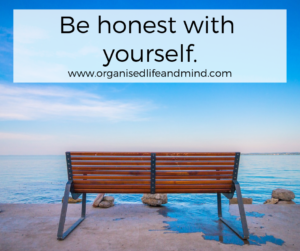 Be honest with yourself Reflect on your year