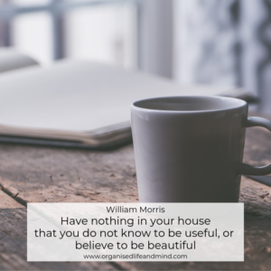 Saturday quote Have nothing in your house