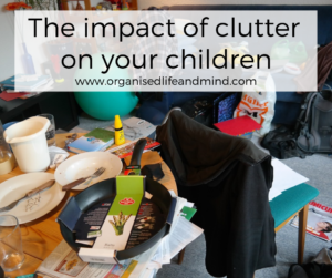 Impact of clutter on children