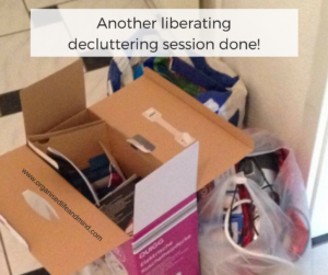 Another liberating decluttering letting go session done