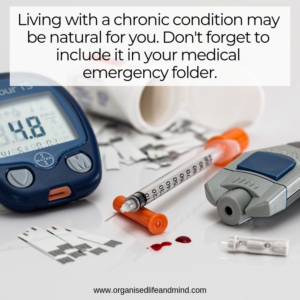 Chronic conditions medical emergency