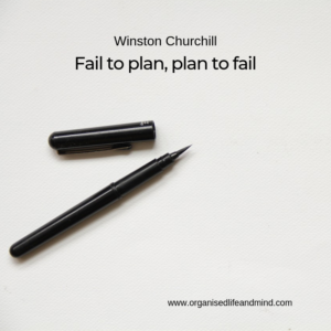 Fail to plan Saturday quote