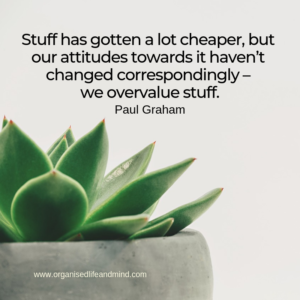 Overvalue stuff Saturday quote