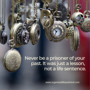 Prisoner of the past Saturday quote