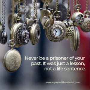 Prisoner of the past Saturday quote