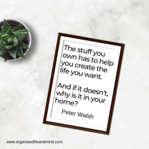 Stuff in your life Saturday quote