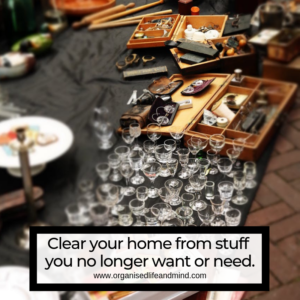 Clear your home Spring clearing
