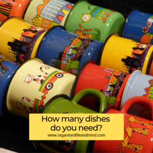 How many dishes spring clean