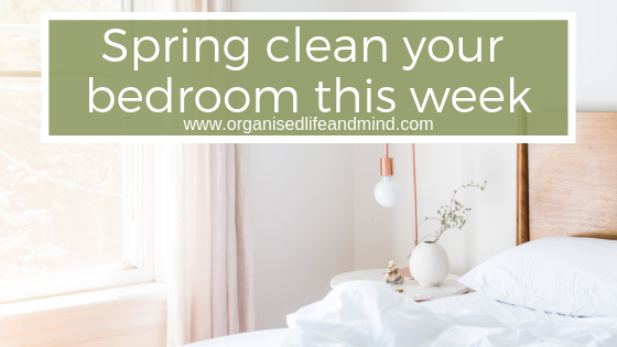 Spring clean your bedroom oasis