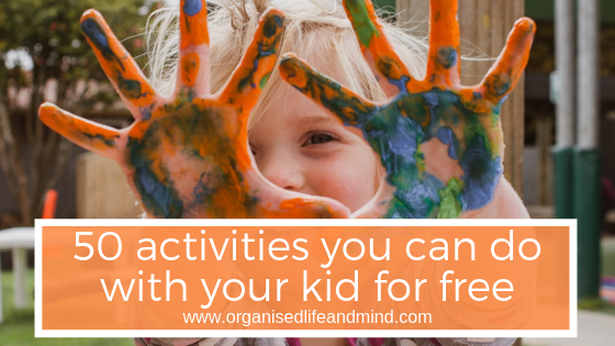 50 activities for kid