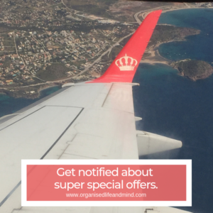 Special offers travel hack