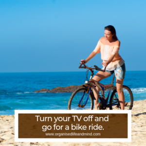 Turn your TV off screen-free