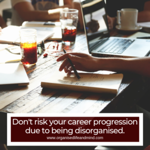 Career progression disorganised costs