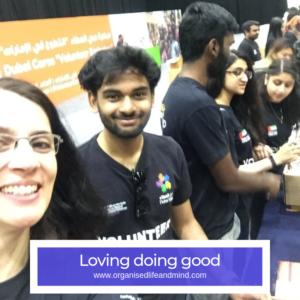 Doing good Volunteering