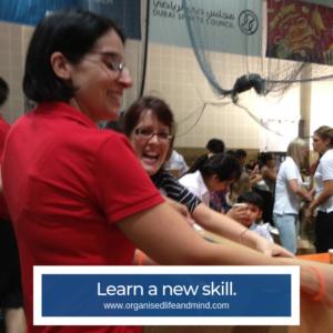 New skill volunteering