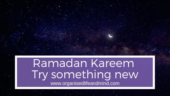 Ramadan Kareem Try New