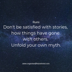 Saturday quote 11 Rumi Myth