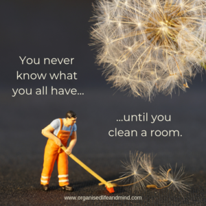 Saturday quote 4 Clean room