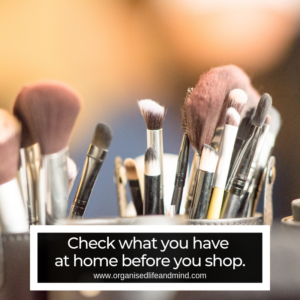 What do you have at home disorganised cost money